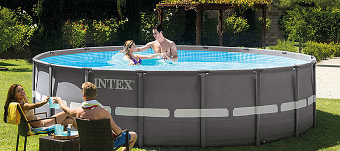 Intex Above-Ground Pools Family Image