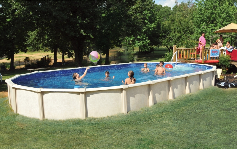 Pools from Backyard and Home