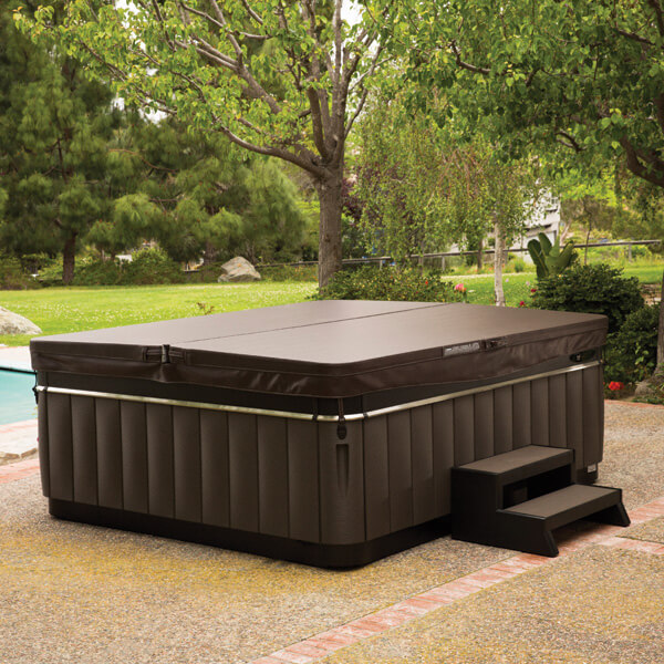Steps Covers Amp Lifters Desert Hot Tubs