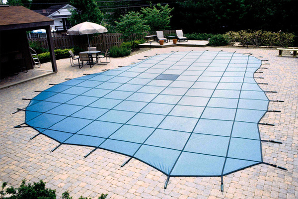 Solid & Mesh Pool Covers Family Image