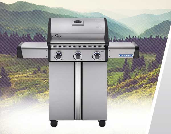 Legend Gas Grills Family Image