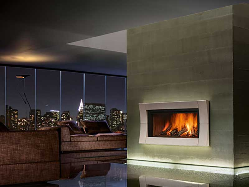 Wood-burning Fireplaces Family Image