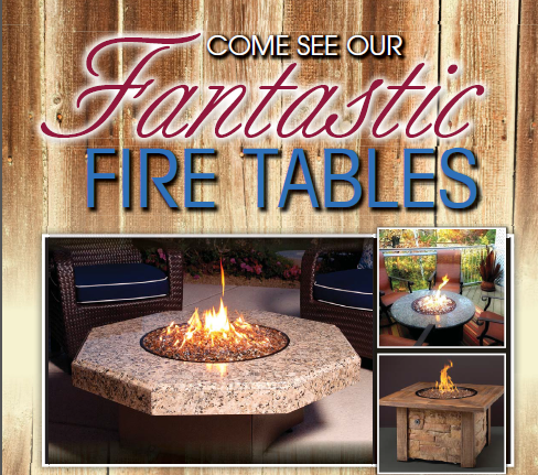 Fantastic Fire Tables
