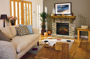Electric Fireplaces Visual List Item Image
