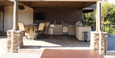 Outdoor Patios & Kitchens Family Image