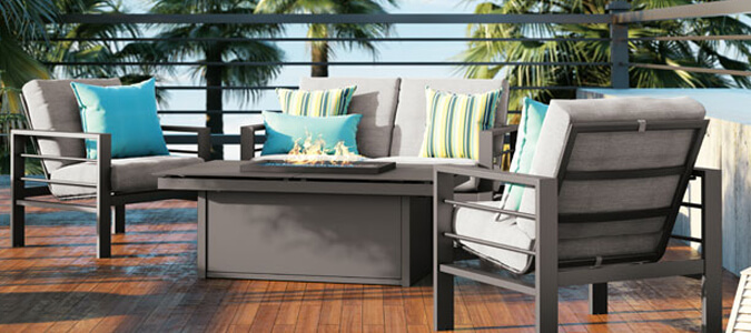 Outdoor Patio Furniture Family Image