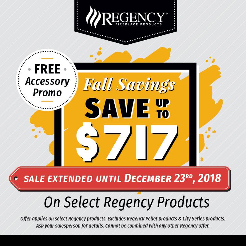 2018 Regency Fall Promotion