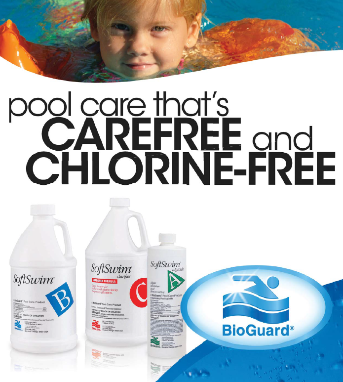 Pool Care that's Carefree & Chlorine-Free