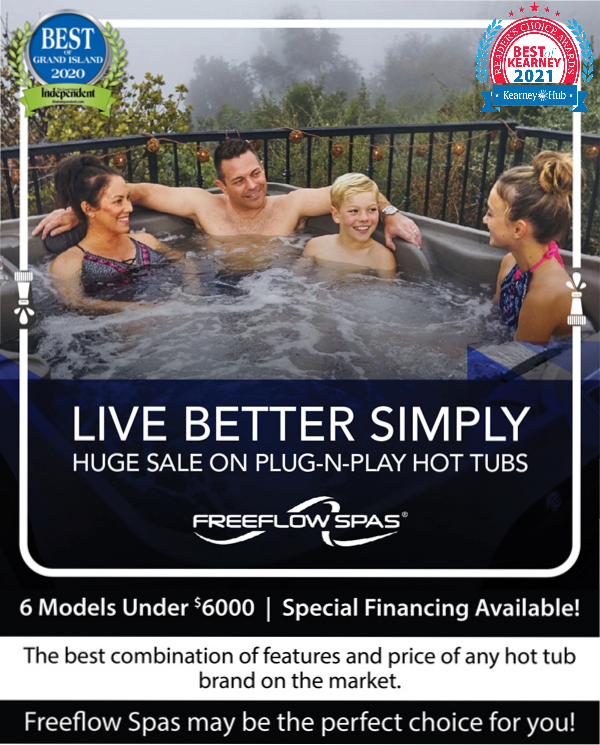 Live Better Simply with Freeflow Hot Tubs