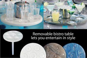 Acrylic Bistro Table