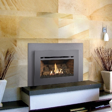 Radiant Plus Small Gas Fireplace Insert Hot Water Productions