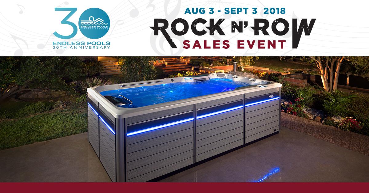 Rock N Row – Endless Pools Sale