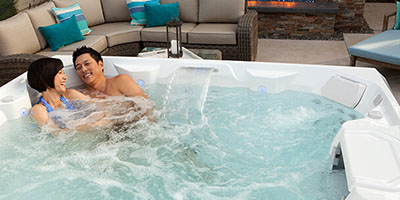 Hot Tub Benefits Visual List Item Image