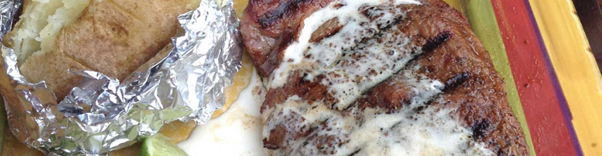 NY Strip Steaks