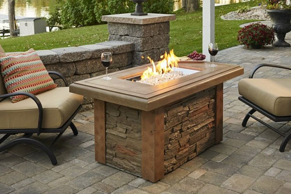 Outdoor Great Room Gas Firepits Visual List Item Image