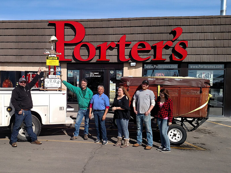 Porter's Mountain View Supply Customer Corner