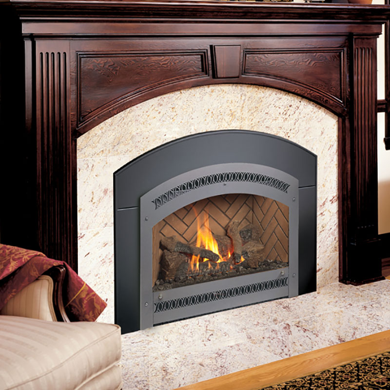 34 DVL Gas Fireplace Insert Product Image