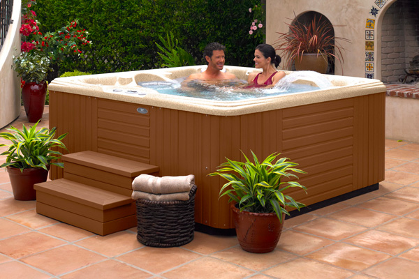 Hot Tub Trade-Ins Family Image