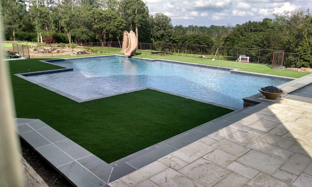 Benefits of Gunite Pools Family Image