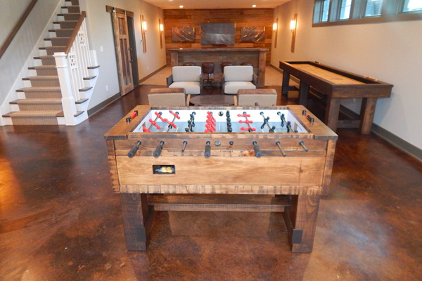 Foosball Tables Family Image