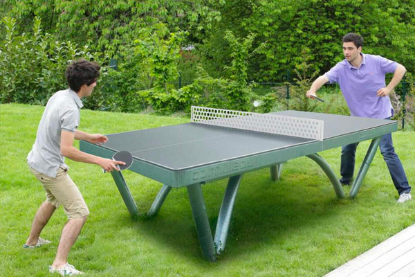 Table Tennis Family Image