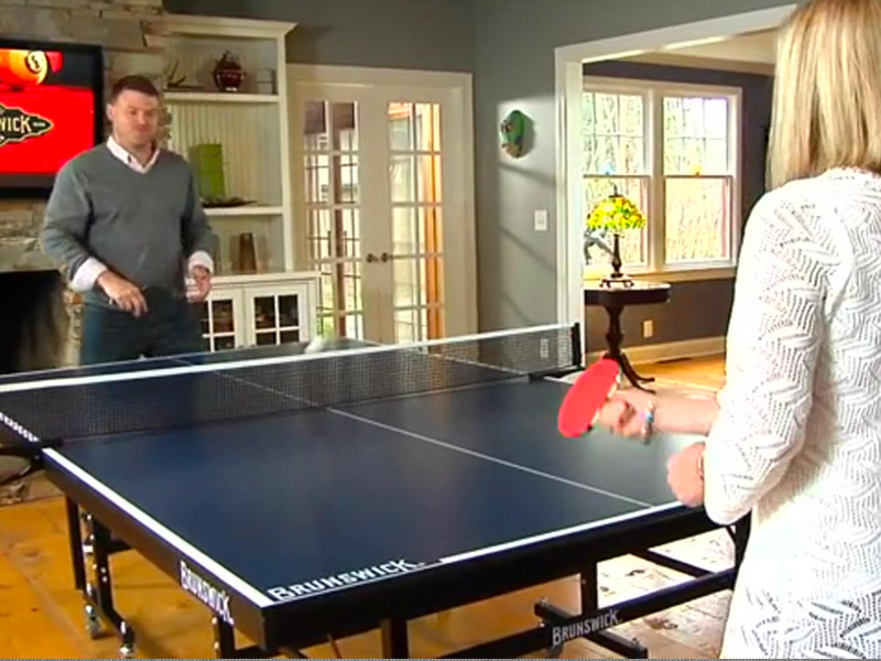 Brunswick Table Tennis Family Image