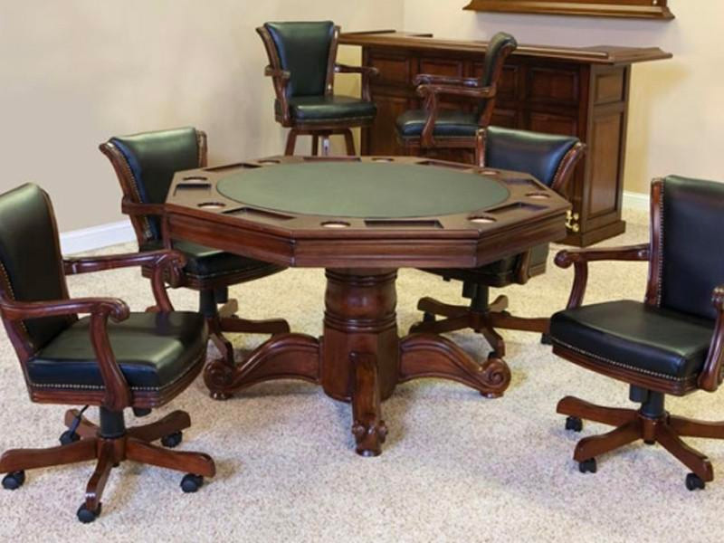 C.L Bailey Poker Table Family Image