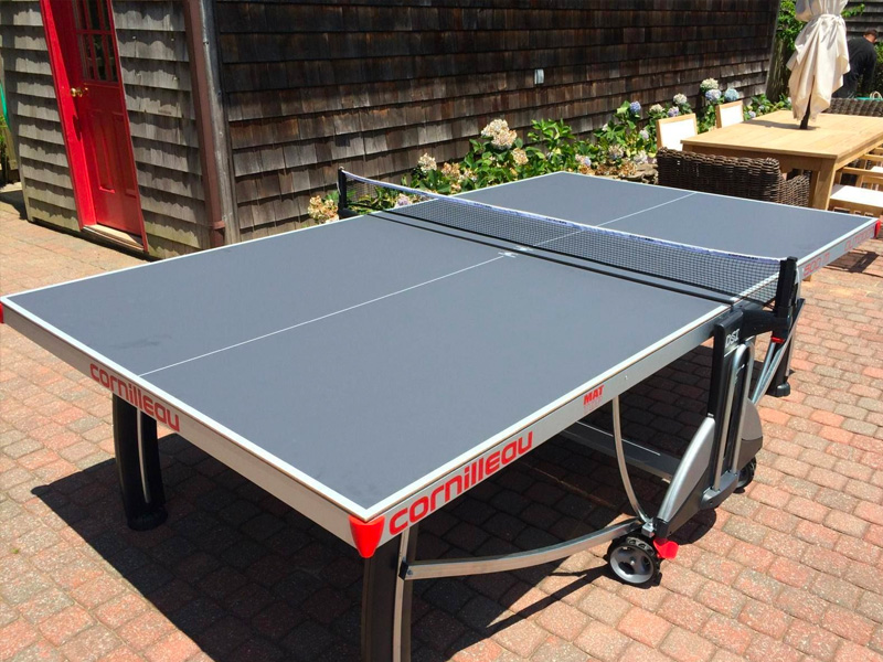 Cornilleau Ping Pong Tables Family Image