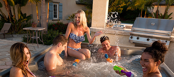 Jacuzzi® Spas Family Image