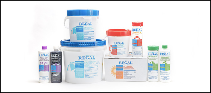 Regal Pool Chemicals Family Image
