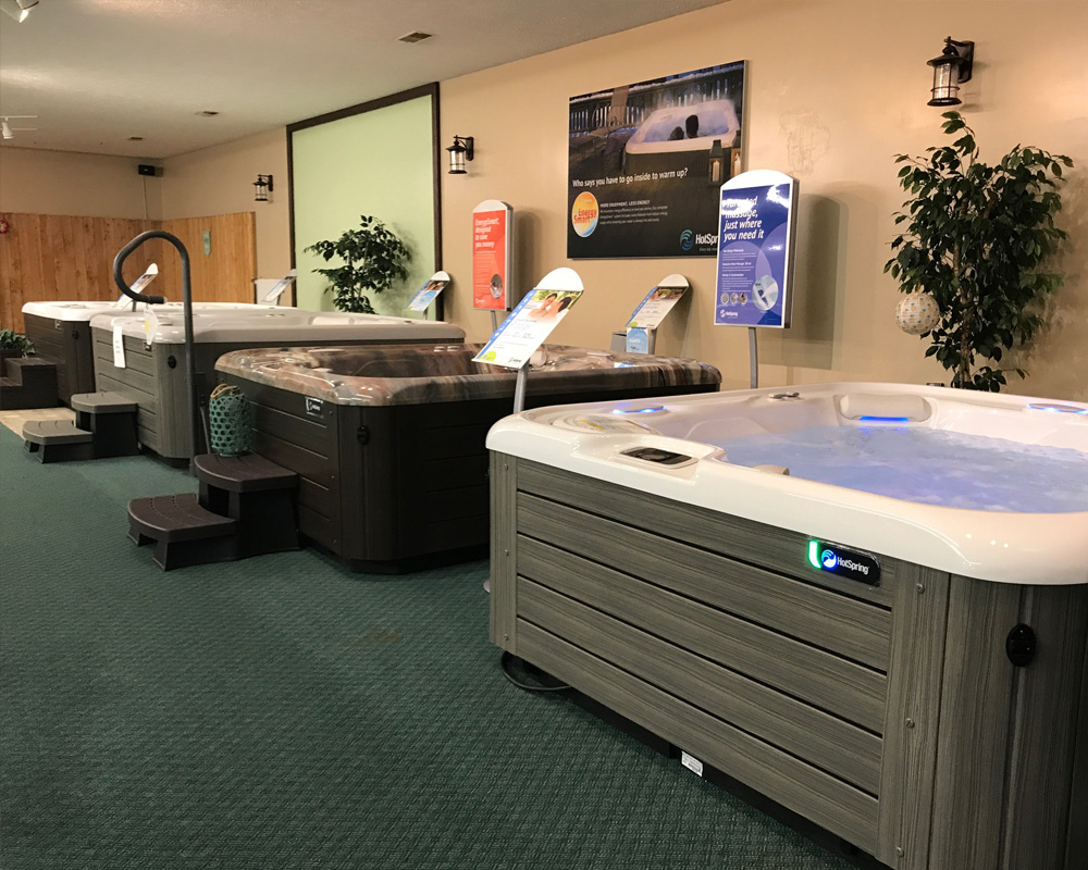 We are a Hot Tub Dealer!